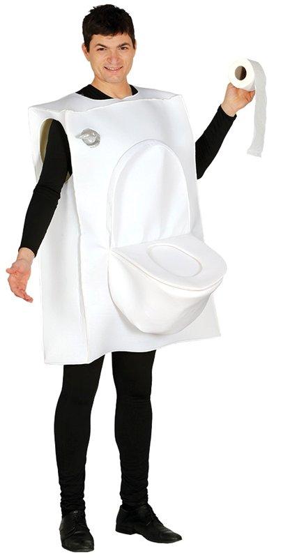 8561593f Toalettstol maskeraddräkt - Kalaskompaniet.se