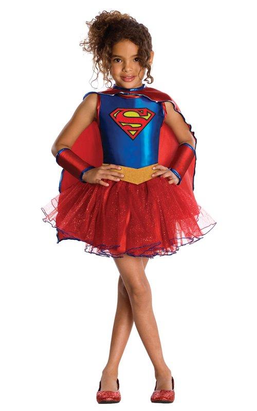 Supergirl klänning barn - Kalaskompaniet.se be4ef9c94891f