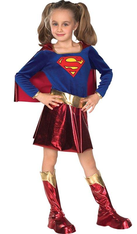 Supergirl barndräkt - Kalaskompaniet.se 8e38521ef246c