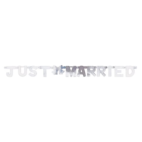 Just married silvergirlang