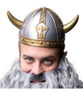 Vikinga hjälm med flätor - Kalaskompaniet.se 09ed4414009a3