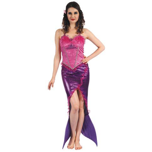 Lila sjöjungfru klänning - Kalaskompaniet.se 0d7619c8ad53c