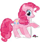 Rosa My Little Pony heliumballong