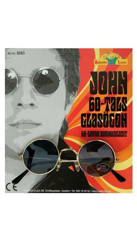 John Lennon svarta glasögon - Kalaskompaniet.se 57de9e45ba98a