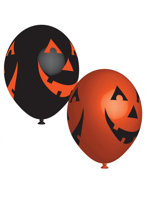 Halloween Pumpa Ballonger 6-Pack - Kalaskompaniet.se 22590aa337fdf