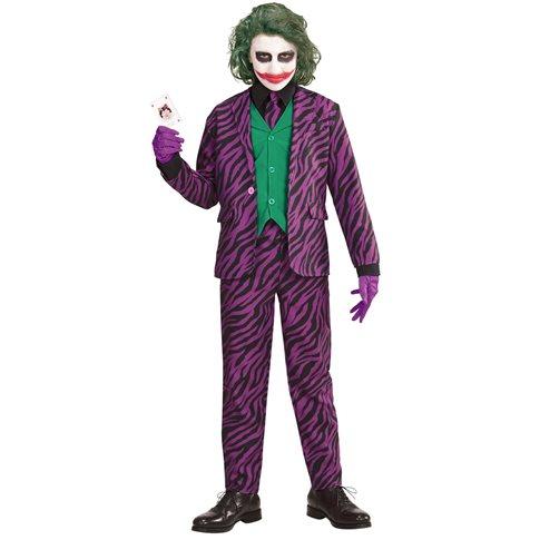 The Joker Maskeraddräkt Barn - Kalaskompaniet.se 74d1b018c2333