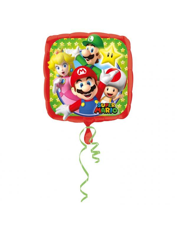 Super Mario Fyrkantig Heliumballong - Kalaskompaniet.se 3e8172ca62e4d