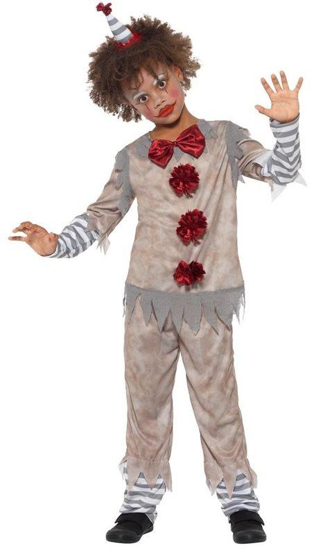 Gammaldags Clown Maskeraddräkt Barn - Kalaskompaniet.se 39b67197d3c3e