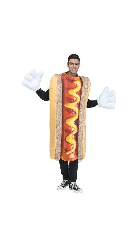 72c7ccaf Hot dog maskeraddräkt - Kalaskompaniet.se