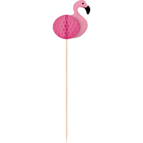 Flamingo Honeycombs Cocktailpinnar