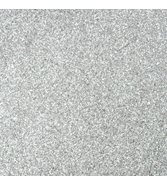 Vimpelgirlang Glitter Silver