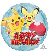 Pokémon Happy Birthday Ballong