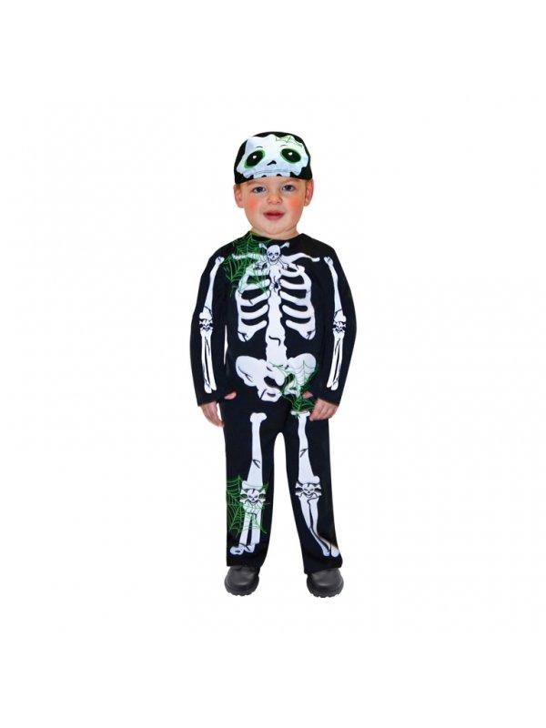 Skelett maskeraddräkt barn - Kalaskompaniet.se bd759f606025d