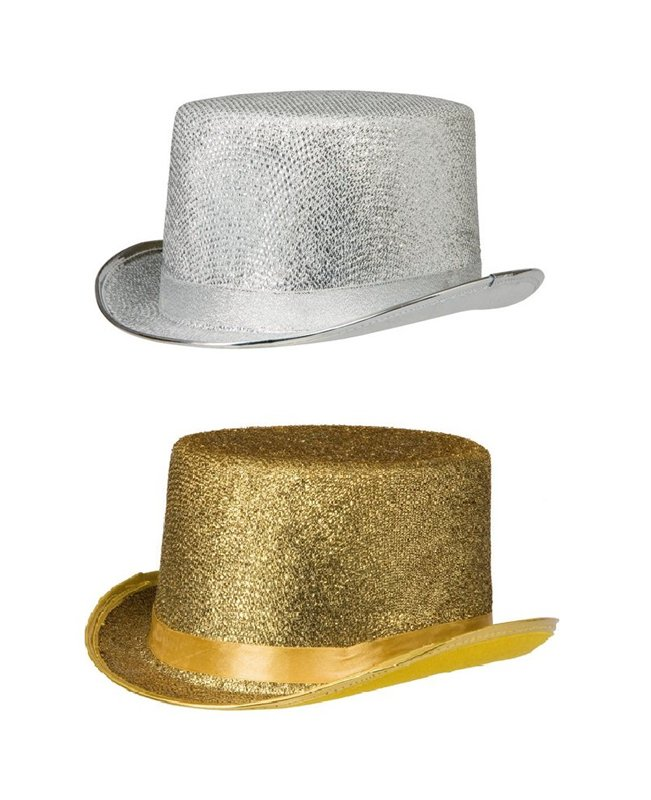 Glittrig hög hatt - Kalaskompaniet.se e2f8368975959