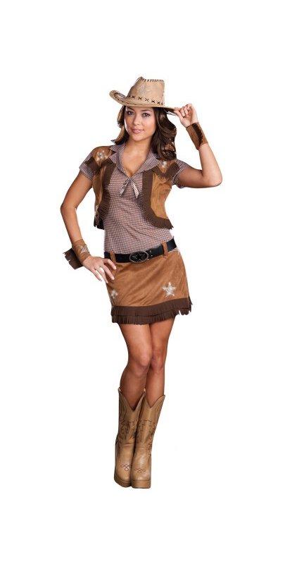 Cowgirl klänning - Kalaskompaniet.se 4e165d1da2964