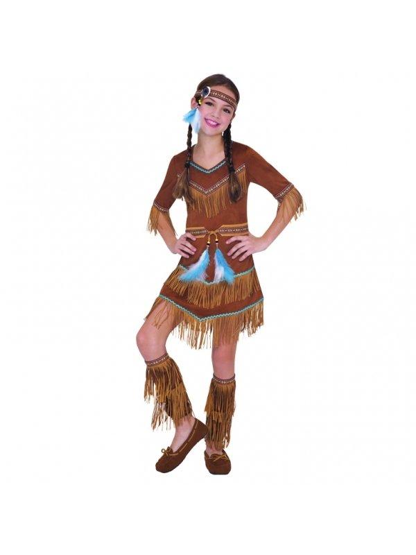 Indianklänning barn - Kalaskompaniet.se 4716ecfb7e787