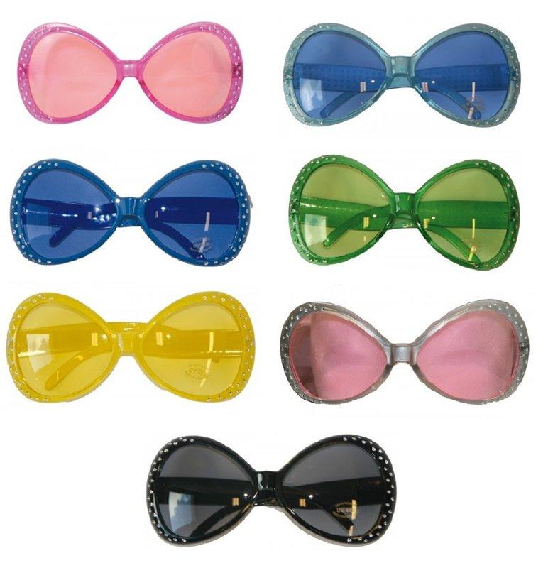 70-tals glasögon med strass - Kalaskompaniet.se c6622a2d95fa6