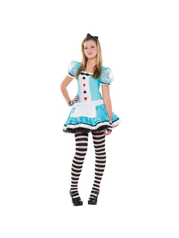 Alice i underlandet klänning ungdom - Kalaskompaniet.se 3c2aa940ec98f