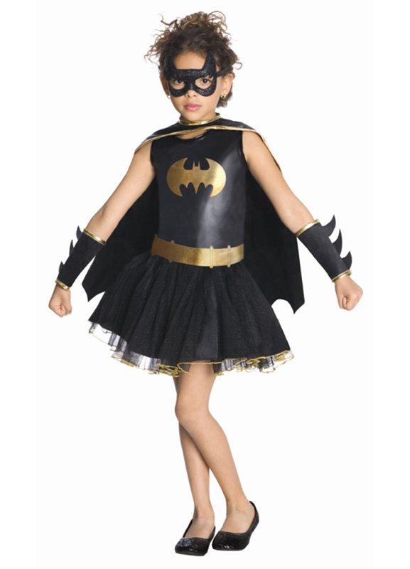 Batgirl klänning barn - Kalaskompaniet.se 8e5badfdd20d3